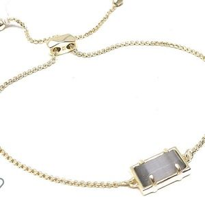 NWT Kendra Scott Phillipa gold bracelet, cats eye